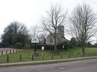 Swainsthorpe - Image: Swainsthorpe(Katy Appleton)Jan 2006