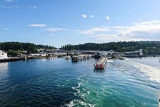 Swartz Bay, British Columbia - Swartz Bay Ferry Terminal
