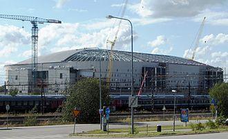 UEFA Women's Euro 2013 Final - Image: Swedbank Arena 1