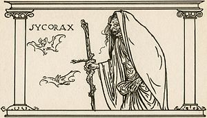 Sycorax - A drawing of Sycorax by Robert Anning Bell.