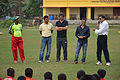 Syed Nayeemuddin with other Dignitaries Conduct Football Workshop - Sagar Sangha Stadium - Baruipur - South 24 Parganas 2016-02-14 1156.JPG