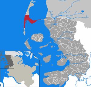 Karte Von Sylt.Sylt Gemeinde Wikipedia