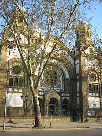 History of the Jews in Serbia - Novi Sad Synagogue