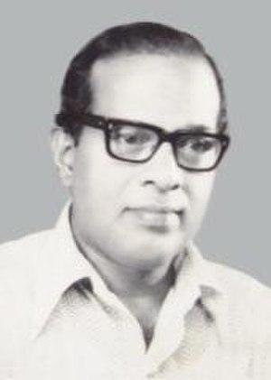 Kerala Sahitya Akademi Award for Story - Image: TATAPURAM SUKUMARAN