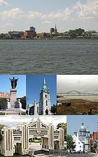 Trois-Rivières City in Quebec, Canada