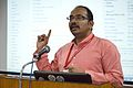 T Vishnu Vardhan - Panel Discussion - Collaboration with Academic Institutes for the Growth of Wikimedia Projects in Indian Languages - Bengali Wikipedia 10th Anniversary Celebration - Jadavpur University - Kolkata 2015-01-10 3468.JPG