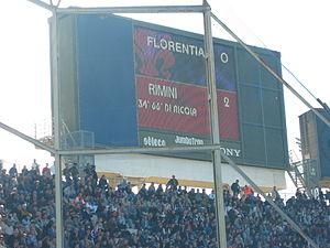 Tabellone Florentia Viola-Rimini 0-2.jpg