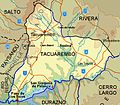Tacuarembó Department map.jpg