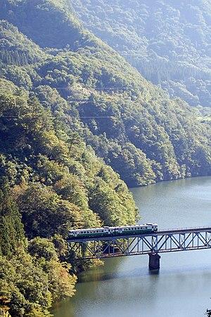 Tadami Line - Tadamigawa Bridge No. 3