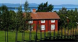 Et bestikkeligud aføda hus i Tällbergsmiljö