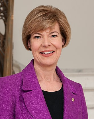2018 United States Senate election in Wisconsin - Image: Tammy Baldwin, official portrait, 113th Congress