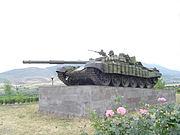 Tank memorial Stepanakert