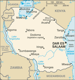 List of cities in Tanzania - Wikipedia
