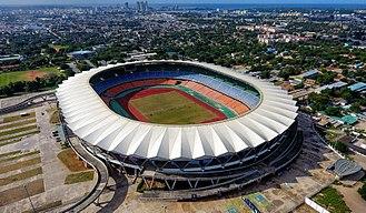 National Stadium (Tanzania) - Aerial view of the stadium