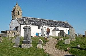 Portmahomack - Tarbat Old Church