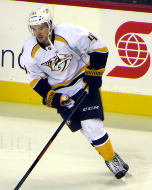 Taylor Beck (ice hockey) - Image: Taylor Beck 141031