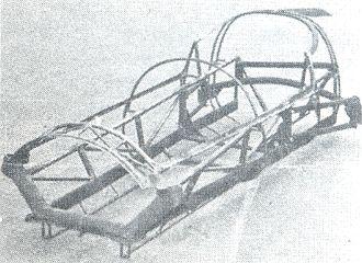 Bandini formula junior - The trellis frame tubes