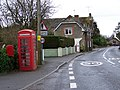 Telephone box, Longburton - geograph.org.uk - 1155875.jpg