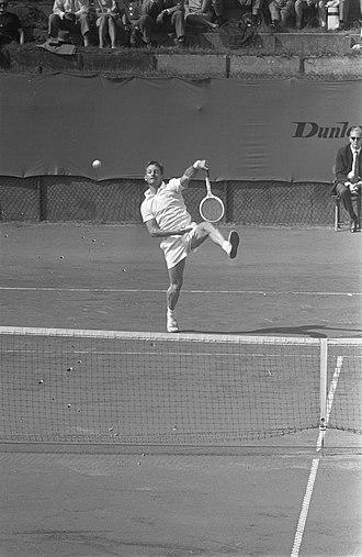 Rod Laver - Rod Laver at Noordwijk in 1964