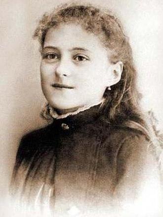 Thérèse of Lisieux - Thérèse in 1886, age 13