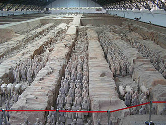 Terracotta - Terracotta Army in Xi'an, China