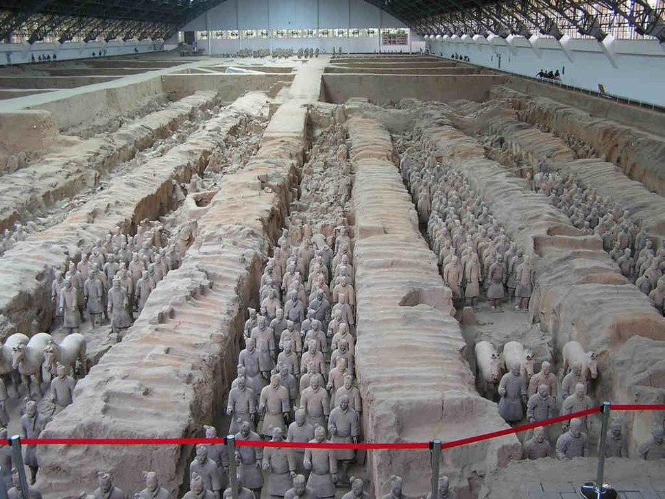 Terracotta army xian
