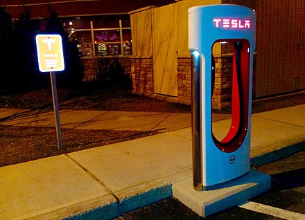 Tesla Electric Car Recharging Station (USA, 2014) - Tesla Motors
