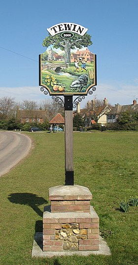 Tewin Village Sign - geograph.org.uk - 141082.jpg