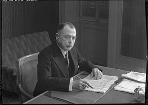 Théodore Aubert -  Théodore Aubert, mars 1939.