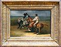 Théodore géricault, corsa di cavalli montati, partenza, 1820-23 ca.jpg