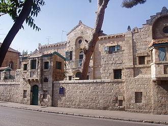 Conrad Schick - Tabor House, Jerusalem
