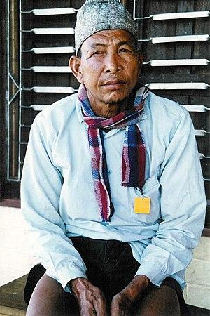 Tharu people - A Tharu man