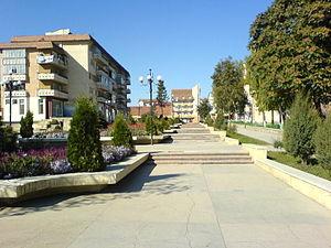 Târgu Frumos - Image: The'ESPLANADE'Tg.Fru mos.ROMANIA