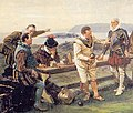 Francis Drake playing bowls