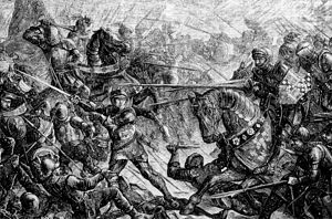 Battle of Towton - Without Edward IV's leadership on the field, the Yorkists would have been quickly defeated.