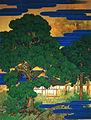 The Birth of Emperor Meiji by Takahashi Shuka (Meiji Memorial Picture Gallery).jpg