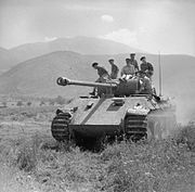 The British Army in Italy 1944 NA15771