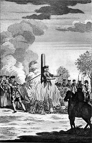 Burning of women in England - The Burning of Catherine Hayes