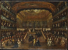 The Dinner and Ball in the Teatro San Benedetto Venice, in Honour of the Conti Del Nord, 22nd January 1782.jpg
