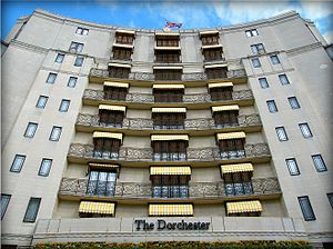 Abu Nidal - Shlomo Argov was shot in the head as he left the Dorchester Hotel, Park Lane, London.