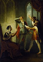 The Duke of York discovering his son Aumerle's treachery (Hamilton, late 1790s).jpg