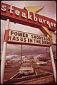 The Energy Crisis in the States of Oregon and Washington Resulted in Attempts at Humor by Businesses with Darkened Signs Such as This One in Vancouver, Washington 11-1973 (4271725893).jpg