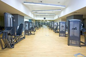 Panorama Towers - Fitness center at Panorama Towers