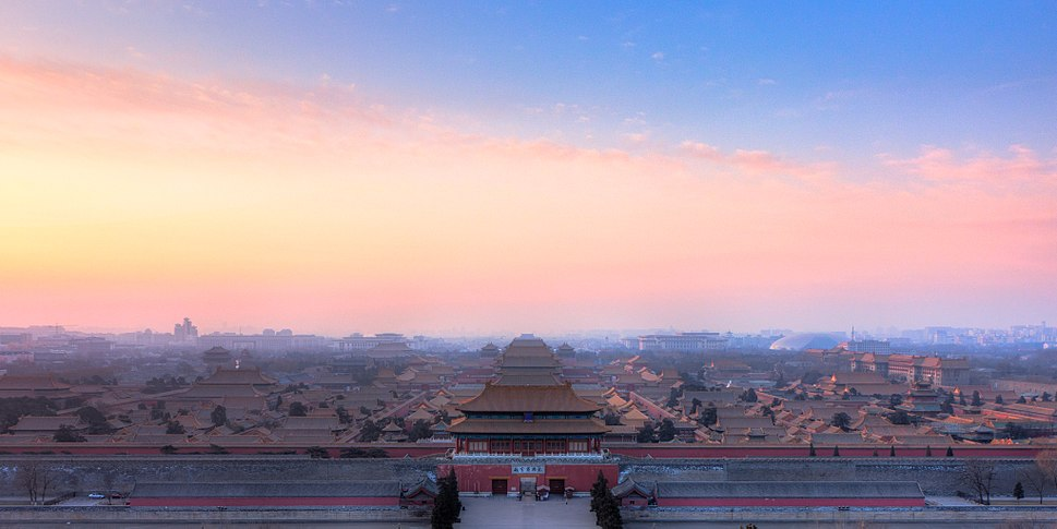 The Forbidden City - View from Coal Hill