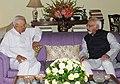 The Governor of Karnataka, Shri Vajubhai Vala calls on the Vice President, Shri Mohd. Hamid Ansari, in New Delhi on September 04, 2014.jpg
