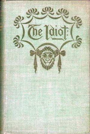 John Kendrick Bangs - Front cover of The Idiot (1895)