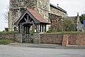 The Lychgate, St Bartholomew's Church, Aldbrough - geograph.org.uk - 1201850.jpg