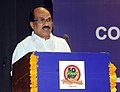The Minister of State (Independent Charge) for Consumer Affairs, Food and Public Distribution, Professor K.V. Thomas addressing the Annual General Body Meeting of National Federation of Cooperative Sugar Factories.jpg