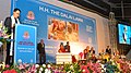 The Minister of State for Home Affairs, Shri Kiren Rijiju addressing the gathering at the public lecture by His Holiness Dalai Lama on 'Meaning of life and secular ethics', in New Delhi on December 09, 2016.jpg