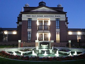 Riverton, Utah - The Old Dome Meeting Hall, in Riverton City Park.